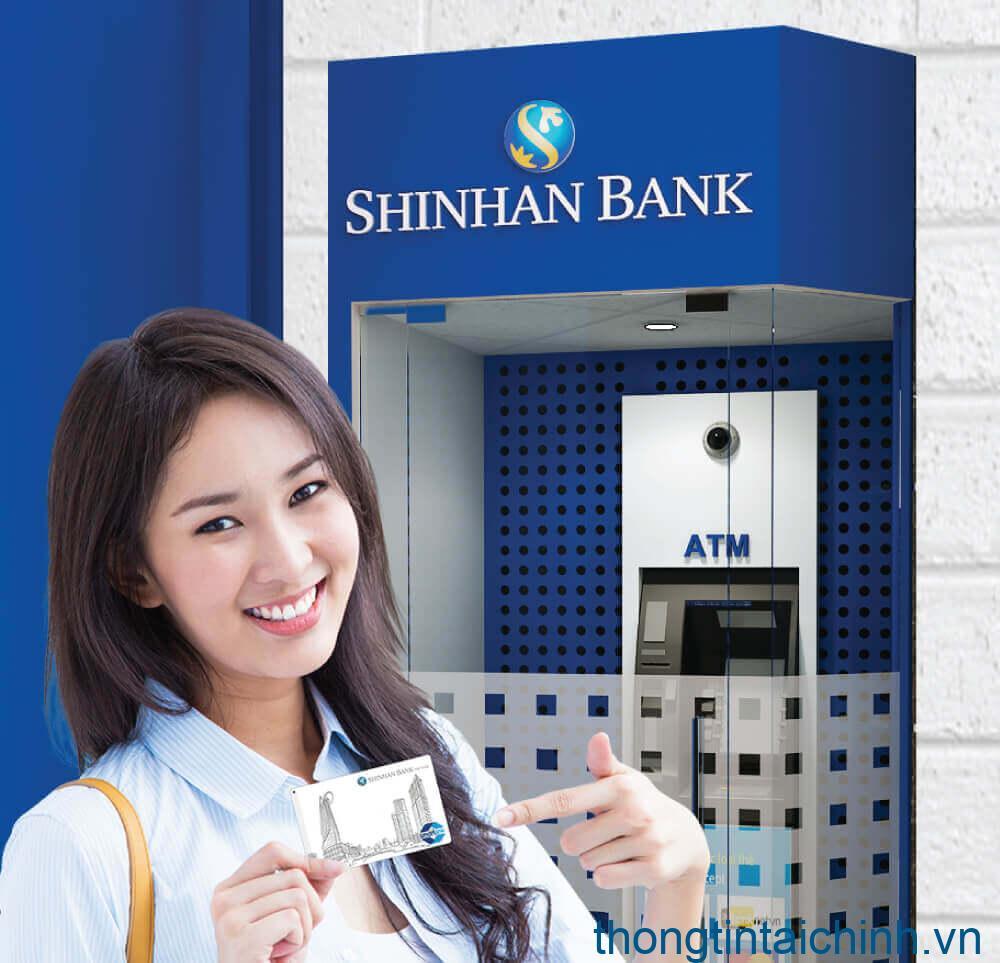 Chuyển khoản tại ATM Shinhan Bank vô cùng đơn giản, nhanh chóng