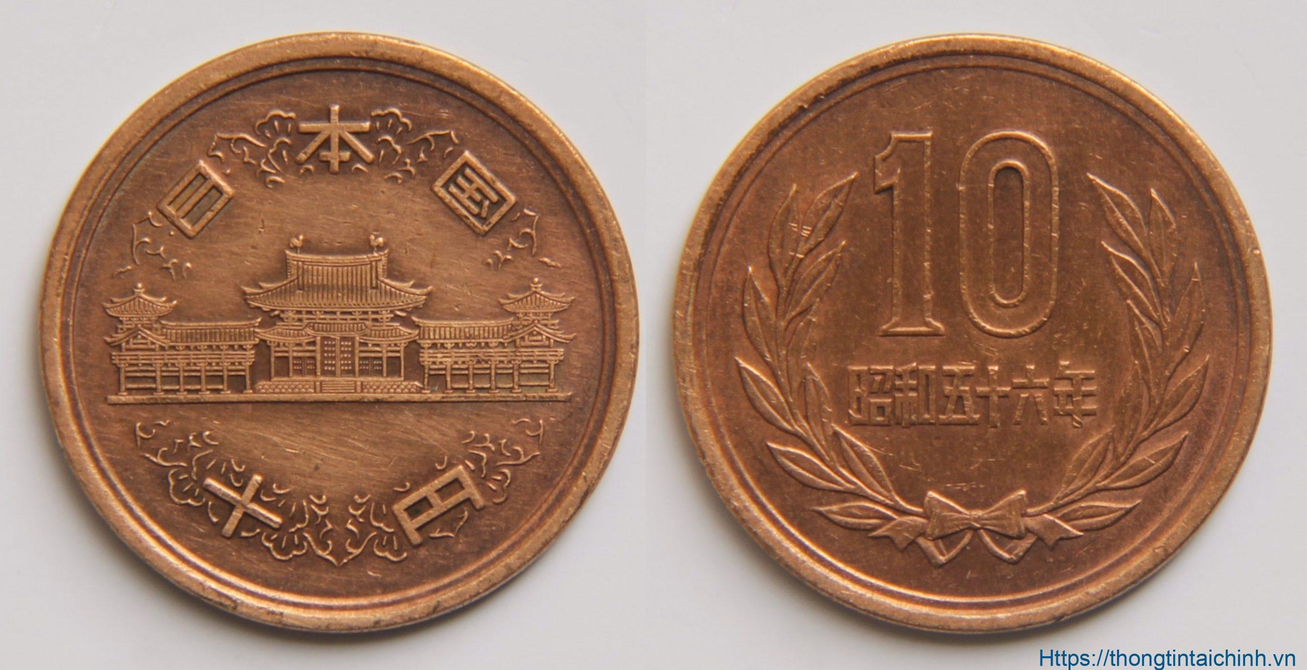 Đồng 10 Yên của Nhật Bản
